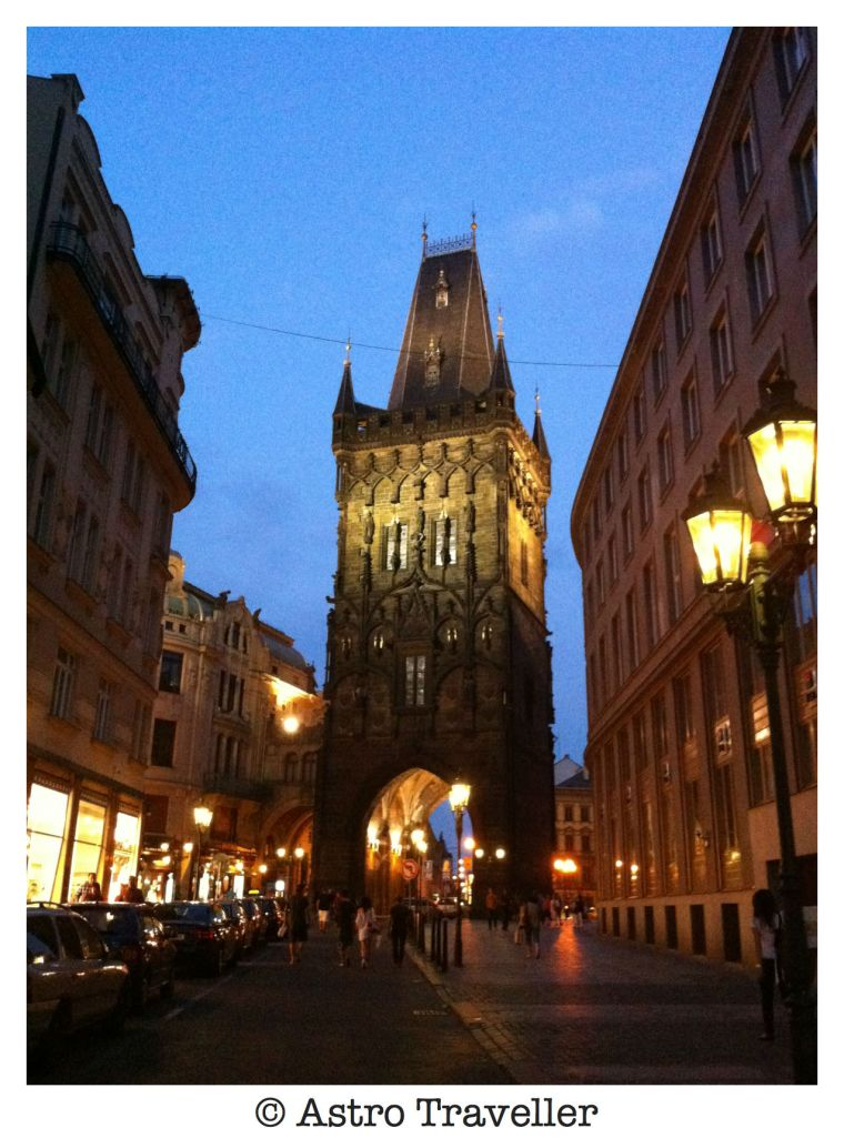 prague, powder gate